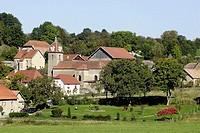 Vellechevreux-et-Courbenans. Franche-Comté. France.