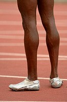 Legs of a Male Runner