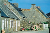 France, Brittany, Village of Crozon