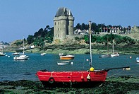 France, Brittany, St Malo, St Servan, Solidor Tower