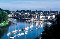 France, Brittany, St Goustan harbour