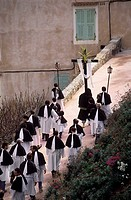 France, Corsica, Bonifacio, Easter celebrations