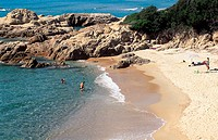 France, Corsica, Sagone Beach (thumbnail)
