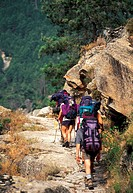 France, Corsica, Hiking in the GR 20