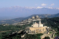 France, Corsica, Calvi, Our Lady of the Serra