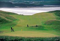 Ireland, Lahinch, golf course