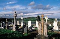 Ireland, Kinsale, Timoleague abbey, cemetery