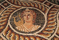Rhodes, Palace of the Grand Masters, mosaics from Kos island
