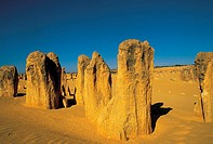 Western Australia, desert of Pinnacles