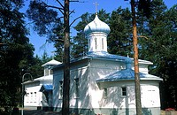 Finland, Porvoo, orthodox church