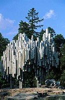 Finland, Helsinki, Sibelius monument
