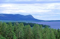 Sweden, Lapland, Saxn&#245;s, landscape