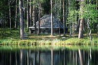 Sweden, Lapland, Hedvallen, Arvidsjaur vicinity