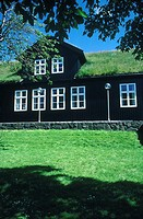 Denmark, Faroe Islands, T=rshavn, the Parliament