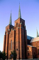 Denmark, Seeland, cathedral of Roskilde