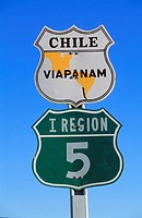 Chile, Panamericana road