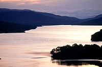 Scotland, Perth, loch Tummel Queen's view