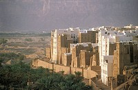 Yemen, Shibam, Manhattan of the desert