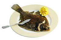 Cooked plaice