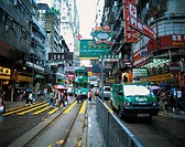 China, Hongkong, street