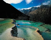 China, Sichuan province, Huanglong