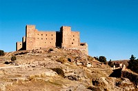 Castle. Sig&#252;enza, Guadalajara, Castilla-La Mancha, Spain