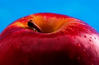 Close-up picture of a red apple