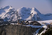 Avoriaz-ski-resort,-Alps,-France