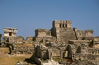 Tulum,-Mayan-Ruins,-60-Miles-South-of-Cancun-on-Caribbean-Coast