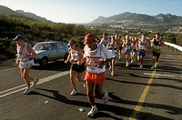 Two Oceans Marathon, Peninsula, Western Cape, South Africa