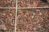 Aluminium-Cans-for-recycling,-Mesa,-AZ