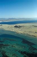 Aerial-Scenic,-Sinai-Peninsula,-Egypt