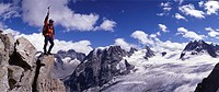 Mountaineering, summit, panorama, view, scenery, landscape, sports, Caband, Vignettes, mount Collon, Canton Valais, Sw