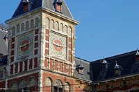 Central Station, Damrak, Amsterdam, Netherlands (thumbnail)