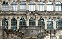 Semper Opera House in Dresden, Germany.