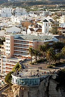 Balc&#243;n de Europa, Nerja. La Axarqu&#237;a, Costa del Sol. M&#225;laga province, Andalusia, Spain
