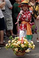 Bun Festival parade, Cheung Chau, Hong Kong