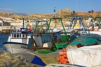 Spain, Andalusia, Almeria, port