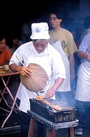 Satay seller, Malaysia