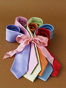 Neckties wrapped with a bow (thumbnail)
