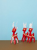 Herd of toy reindeer (thumbnail)