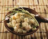 Chayote salad (Antilles)