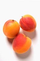 Three apricots