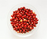 Cranberries in a white bowl (3)