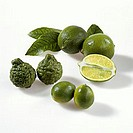 Limes (Persian limes, kafir limes and mini-limes)