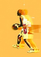 All different types of sports activities with computer graphics (thumbnail)