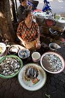 Jimbaran market. Island of Bali . Indonesia