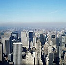USA, New York, cityscape, elevated view