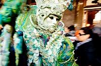 Carnival at San Marco square. Venice. Veneto. Italy.