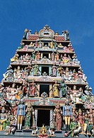 Chinatown / Sri Mariamman Hindu Temple / Temple Carvings, Singapore